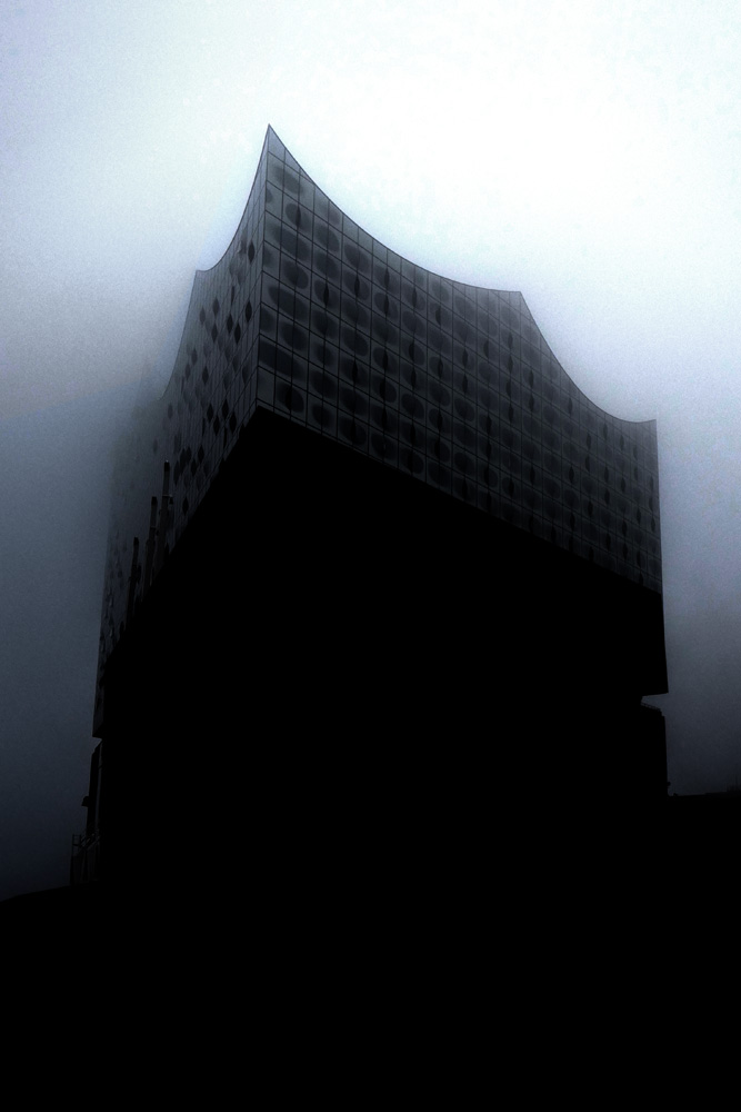 Nebel, Elbphilharmonie